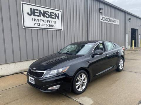 2013 Kia Optima for sale at Jensen's Dealerships in Sioux City IA