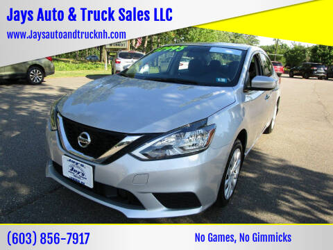 2018 Nissan Sentra for sale at Jays Auto & Truck Sales LLC in Loudon NH
