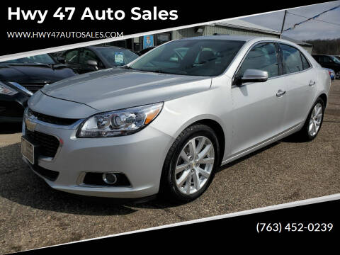 2016 Chevrolet Malibu Limited for sale at Hwy 47 Auto Sales in Saint Francis MN