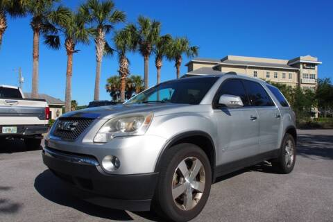 2012 GMC Acadia for sale at Gulf Financial Solutions Inc DBA GFS Autos in Panama City Beach FL