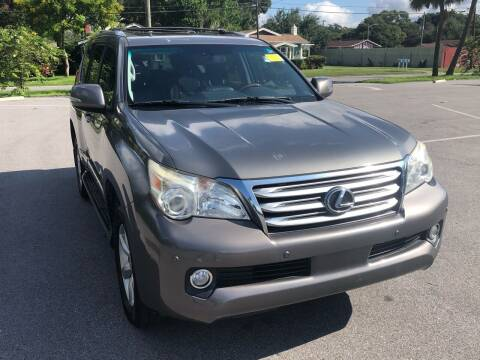 2012 Lexus GX 460 for sale at LUXURY AUTO MALL in Tampa FL