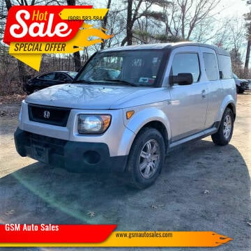 2006 Honda Element for sale at GSM Auto Sales in Linden NJ