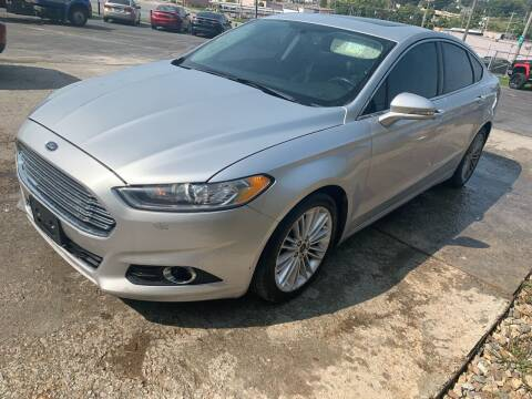 2015 Ford Fusion for sale at Capital Mo Auto Finance in Kansas City MO