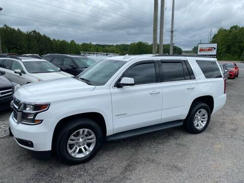 2017 Chevrolet Tahoe for sale at Billy Ballew Motorsports in Dawsonville GA