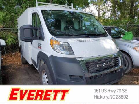 2019 RAM ProMaster Cutaway Chassis for sale at Everett Chevrolet Buick GMC in Hickory NC