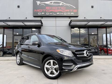 2018 Mercedes-Benz GLE for sale at Exotic Motorsports of Oklahoma in Edmond OK