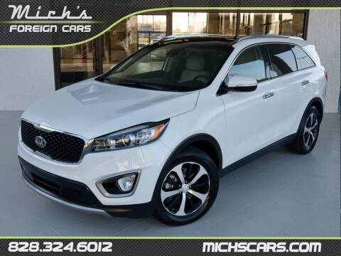 2017 Kia Sorento for sale at Mich's Foreign Cars in Hickory NC