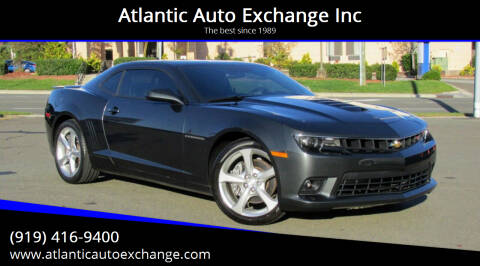 2014 Chevrolet Camaro for sale at Atlantic Auto Exchange Inc in Durham NC