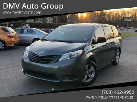 2013 Toyota Sienna for sale at DMV Auto Group in Falls Church VA
