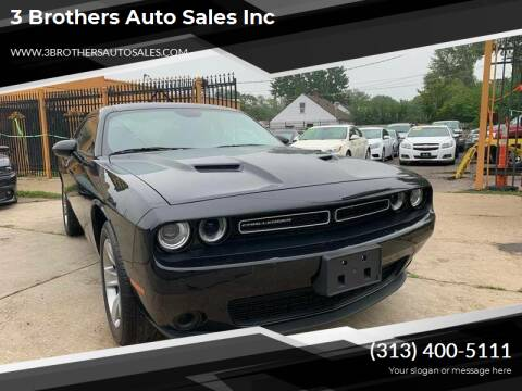 2018 Dodge Challenger for sale at 3 Brothers Auto Sales Inc in Detroit MI