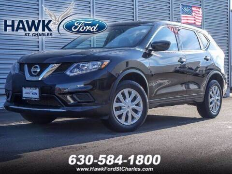 2016 Nissan Rogue for sale at Hawk Ford of St. Charles in St Charles IL