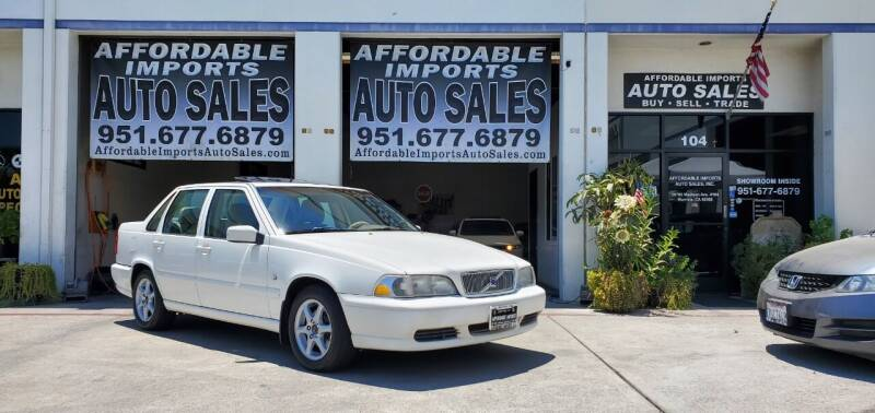 1999 Volvo S70 for sale at Affordable Imports Auto Sales in Murrieta CA