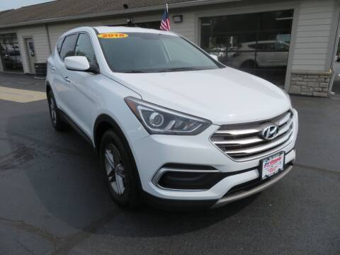 2018 Hyundai Santa Fe Sport for sale at Tri-County Pre-Owned Superstore in Reynoldsburg OH