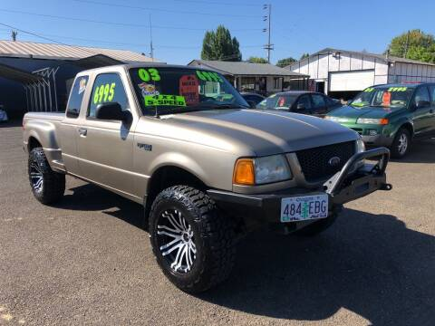 2003 Ford Ranger for sale at Freeborn Motors in Lafayette, OR