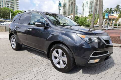 2013 Acura MDX for sale at Choice Auto in Fort Lauderdale FL