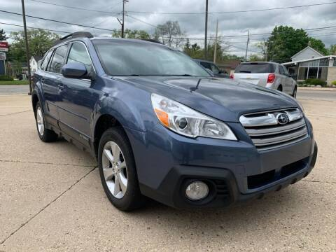 2014 Subaru Outback for sale at Auto Gallery LLC in Burlington WI