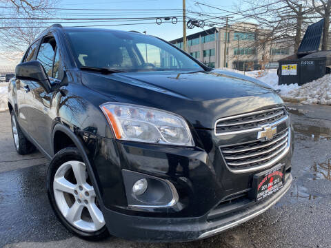2015 Chevrolet Trax for sale at JerseyMotorsInc.com in Teterboro NJ
