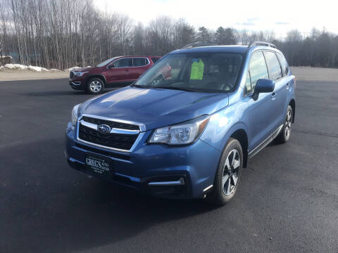 2017 Subaru Forester for sale at Greg's Auto Sales in Searsport ME