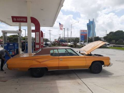 1973 Chevrolet Caprice for sale at Car Mart Leasing & Sales in Hollywood FL