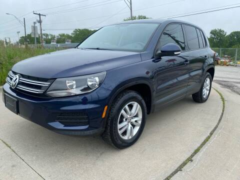 2014 Volkswagen Tiguan for sale at Xtreme Auto Mart LLC in Kansas City MO