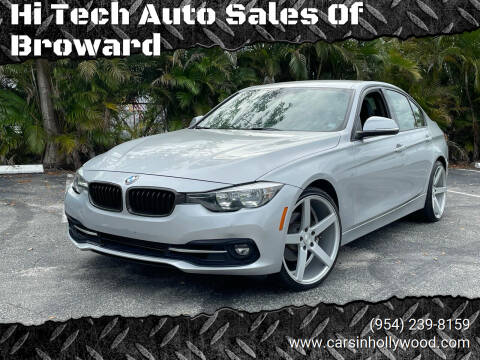 2016 BMW 3 Series for sale at Hi Tech Auto Sales Of Broward in Hollywood FL