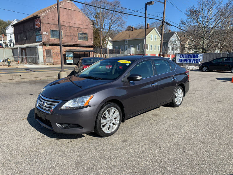 2013 Nissan Sentra for sale at Capital Auto Sales in Providence RI