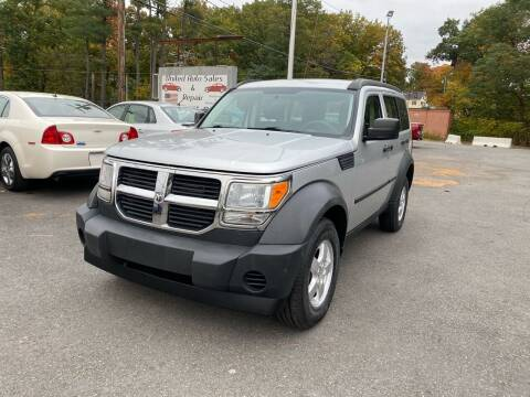 2007 Dodge Nitro for sale at United Auto Service in Leominster MA