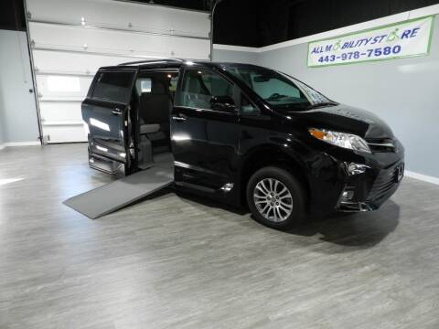 2020 Toyota Sienna for sale at ALL MOBILITY STORE in Delmar MD