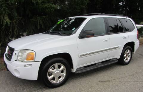 2002 GMC Envoy for sale at B & C Northwest Auto Sales in Olympia WA