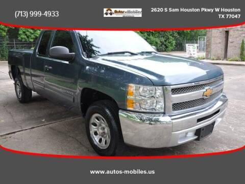 2013 Chevrolet Silverado 1500 for sale at AUTOS-MOBILES in Houston TX