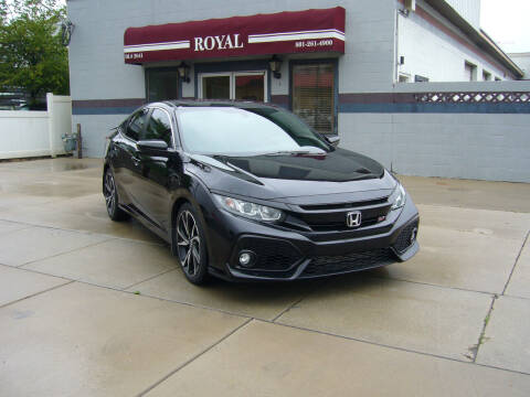 2018 Honda Civic for sale at Royal Auto Inc in Murray UT