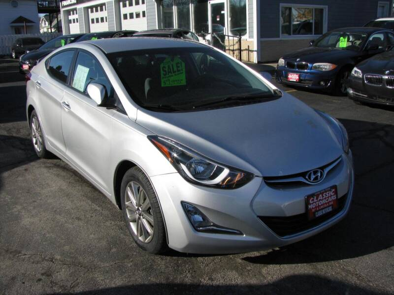 2015 Hyundai Elantra for sale at CLASSIC MOTOR CARS in West Allis WI