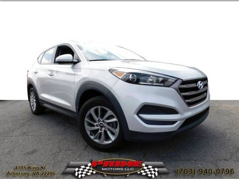 2016 Hyundai Tucson for sale at PRIME MOTORS LLC in Arlington VA