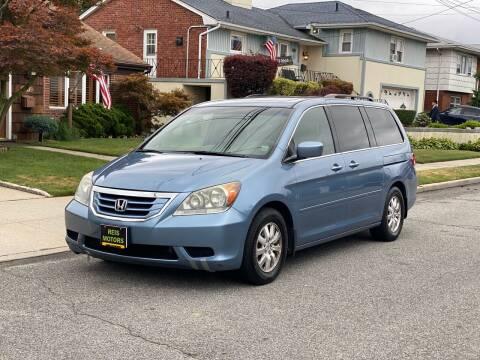 2008 Honda Odyssey for sale at Reis Motors LLC in Lawrence NY