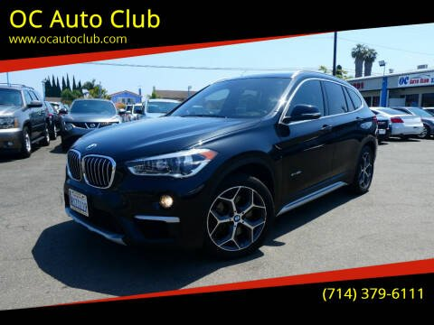 2016 BMW X1 for sale at OC Auto Club in Midway City CA