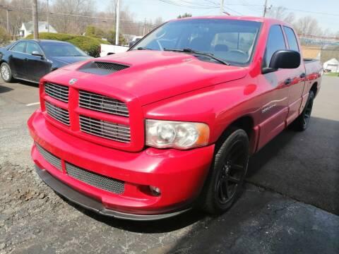 2005 Dodge Ram Pickup 1500 SRT-10 for sale at KRIS RADIO QUALITY KARS INC in Mansfield OH
