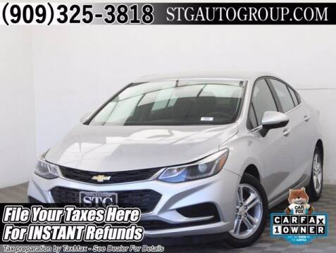 2018 Chevrolet Cruze for sale at STG Auto Group in Montclair CA