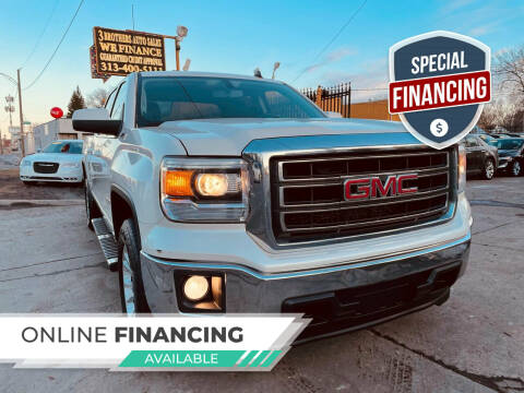 2014 GMC Sierra 1500 for sale at 3 Brothers Auto Sales Inc in Detroit MI
