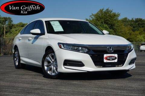 2018 Honda Accord for sale at Van Griffith Kia Granbury in Granbury TX