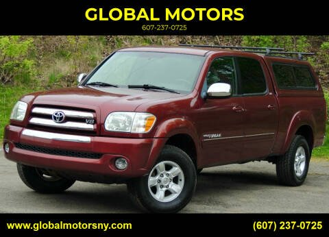 2005 Toyota Tundra for sale at GLOBAL MOTORS in Binghamton NY