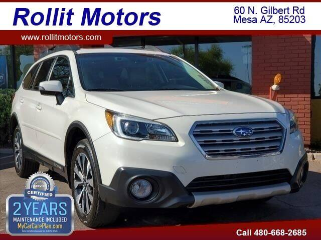 2016 Subaru Outback for sale at Rollit Motors in Mesa AZ