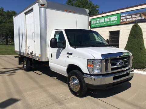2016 Ford E-Series Chassis for sale at MILESTONE MOTORS in Chesterfield MI