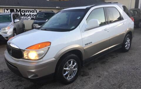 2002 Buick Rendezvous for sale at Mama's Motors in Greer SC