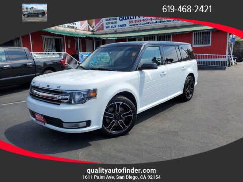 2014 Ford Flex for sale at QUALITY AUTO FINDER in San Diego CA