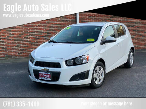 2014 Chevrolet Sonic for sale at Eagle Auto Sales LLC in Holbrook MA