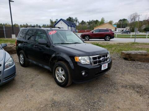 2010 Ford Escape for sale at Winner's Circle Auto Sales in Tilton NH