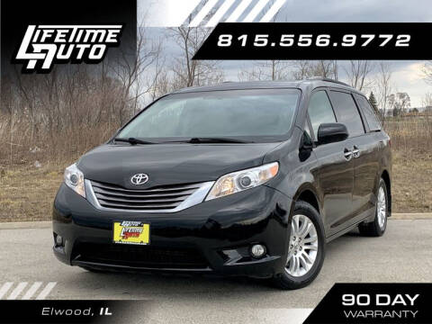 2017 Toyota Sienna for sale at Lifetime Auto in Elwood IL