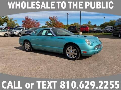 2002 Ford Thunderbird for sale at LASCO FORD in Fenton MI