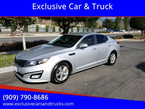 2014 Kia Optima for sale at Exclusive Car & Truck in Yucaipa CA