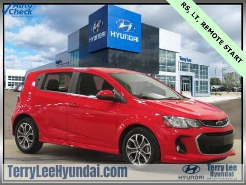 2018 Chevrolet Sonic for sale at Terry Lee Hyundai in Noblesville IN